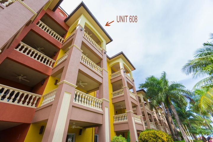 Infinity Bay unit 608 is located in building 6 on the 4th floor