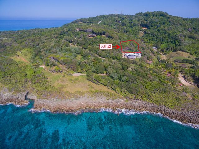 Aerial view of lot 2 in Gran Keyhole