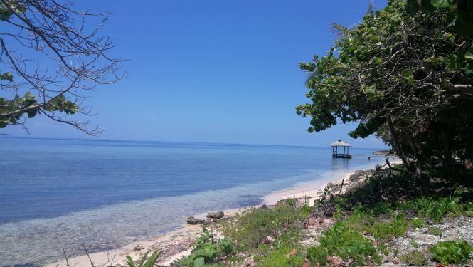 Point, Lot 3, St. Helene, 1 acre, Beachfront, Rocky, Roatan,
