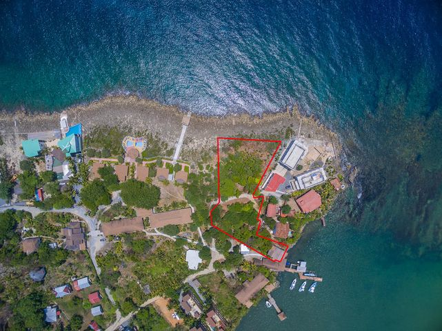 This unique property has ocean frontage on the Ironshore and on Mangrove Bight