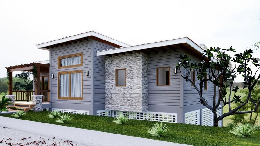New Construction, Gray Moon Residence, Roatan,