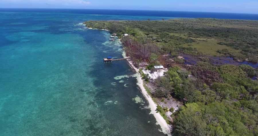 Motivated Seller 100 ft beach, Pine Point Paradise beach lot, Utila,