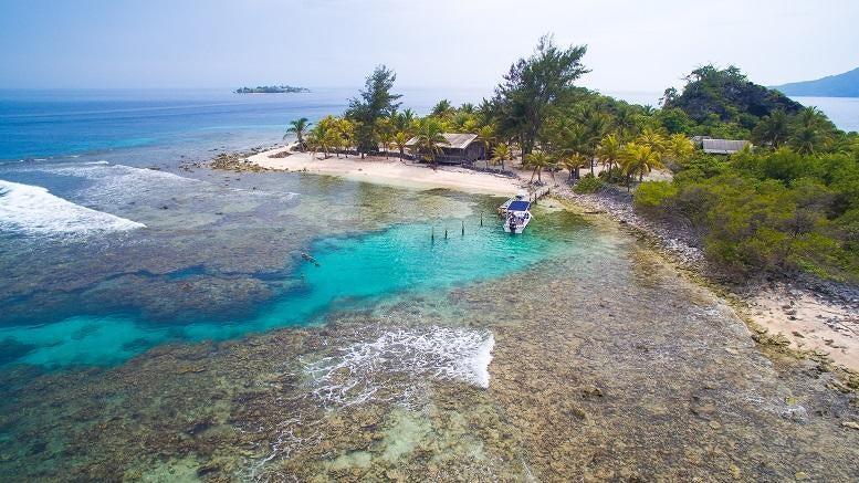 Cayos Cochinos, Lambay Cay, Roatan,