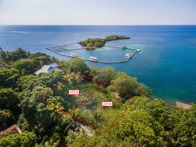 Deep water frontage in Sandy Bay- Please note that only lot B is listed in this listing.