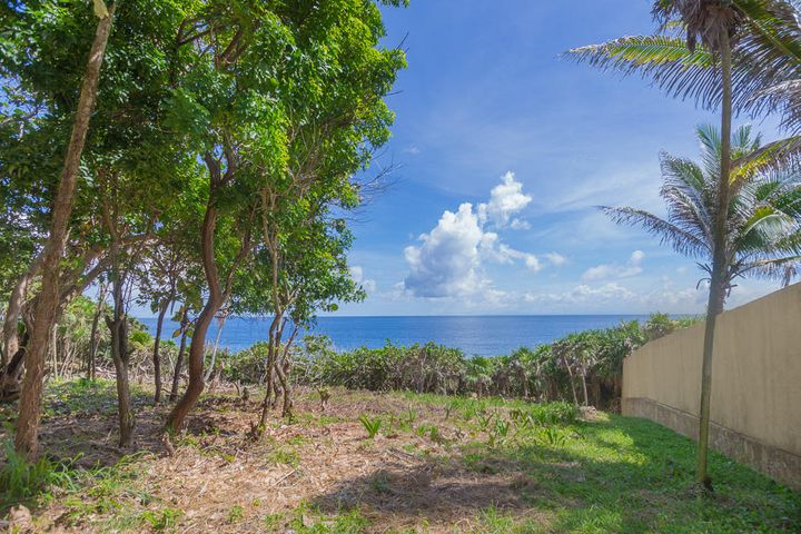 Clear ocean views over the Ironshore on this large development lot