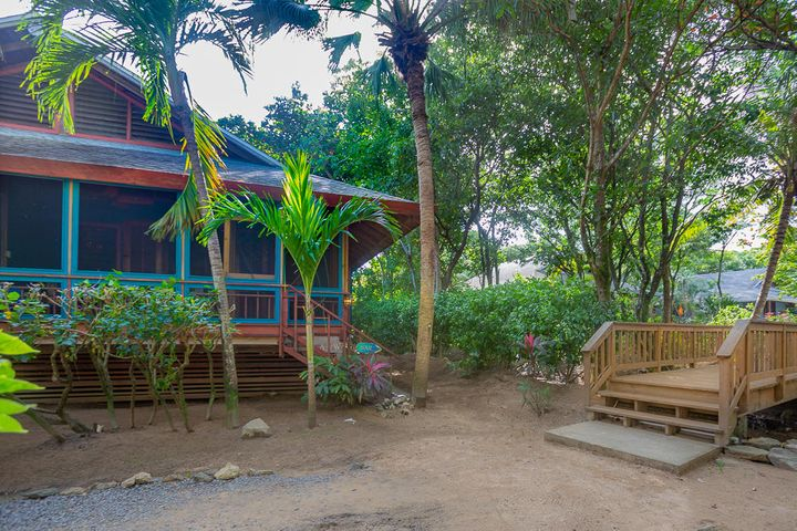 This home is located in the lush tropical gardens of Palmetto Bay, just steps away from the beach