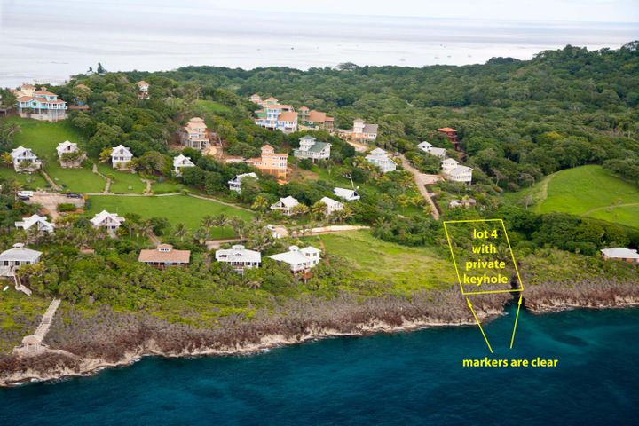 private keyhole, Highly desirable lot with, Roatan,