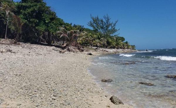 - Silver Garden - South Shore, 0.375 Acre Beachfront Lot, Utila,