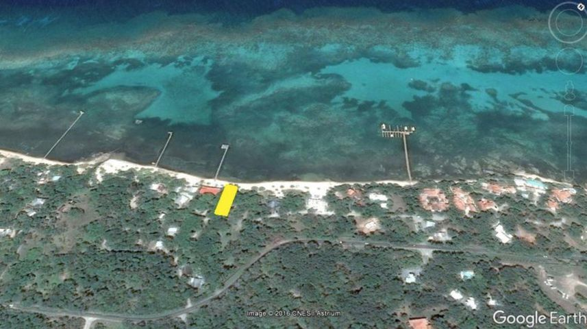 Beachfront Lot#1, Lawson Rock, Roatan,