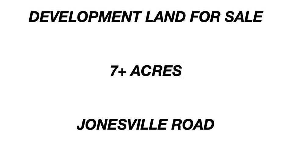 Jonesville Road, East side Land Development, Roatan,