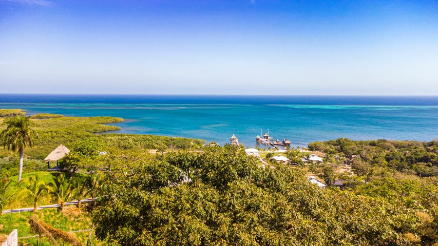 Lot # 59 Ocean Views, Pre-construction Foundation, Roatan,
