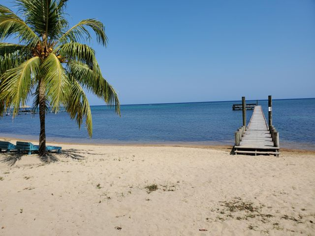 Sandy Bay, Tropical lot 1 minute to beach, Roatan,