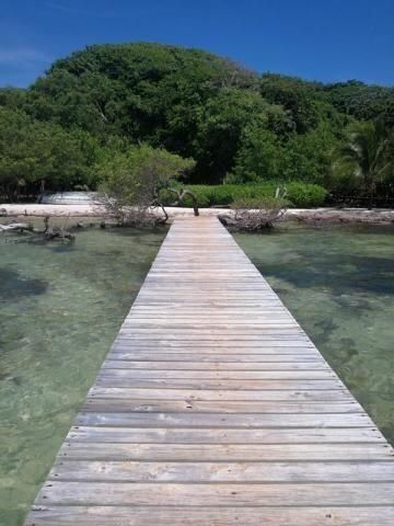 130 Ft. Beachfront, 1 Bed 1 Bath Cottage, Roatan,