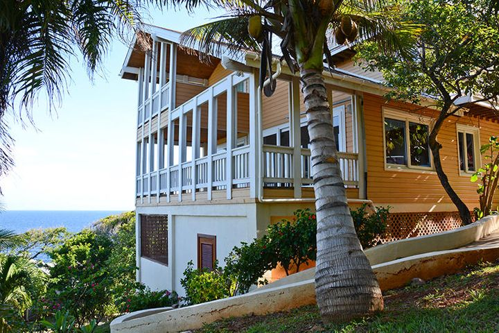 Turrets, West Bay, House on the Hill, Roatan,