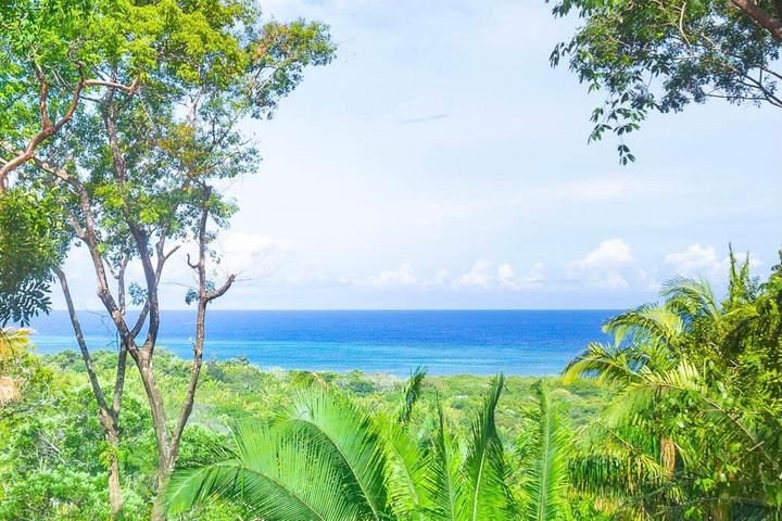 Clear ocean views from lot 11