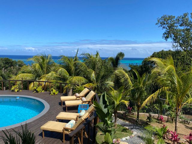 Enjoy the stunning ocean views from your very own back yard