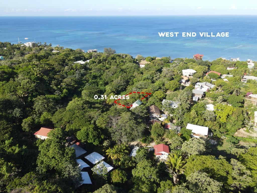 West End Village, Mango Orchard Lot, Roatan,