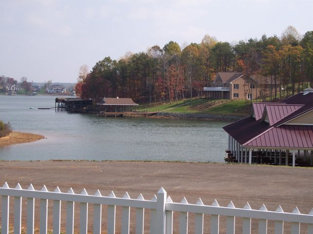 View with dock