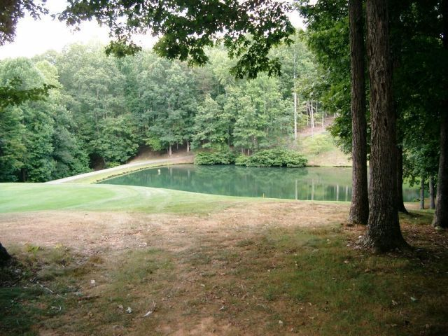 Pond located on #3 Fairway