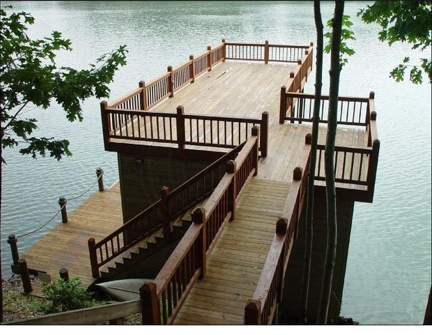 You won't find a more amazing dock!