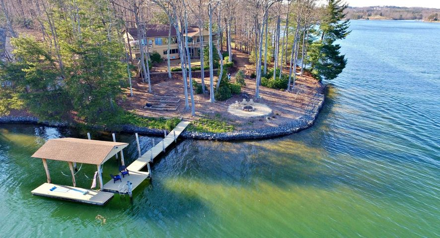 Unique Lake Home on an Incredible Point Lot