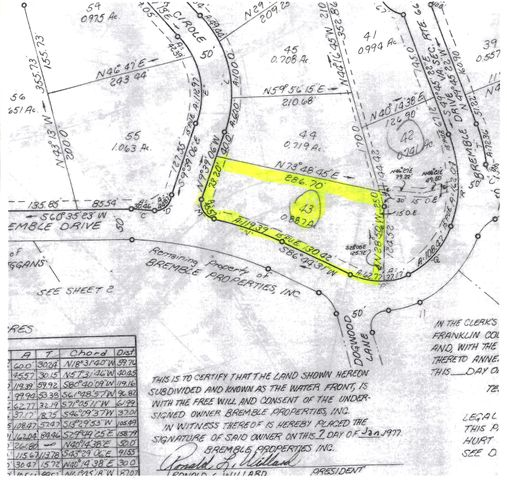 Lot 43 Bremble LN, Moneta, VA 24121