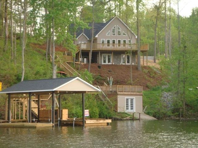 New Lake Home with Main Channel Views