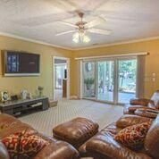 the entertainment room is perfect for family and friends.