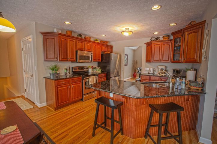 Kitchen entry from the living room
