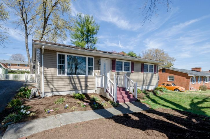 This adorable ranch home is move in ready!