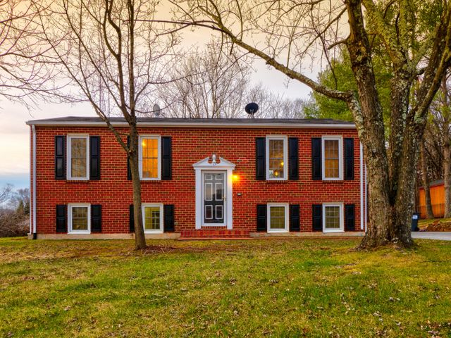 w/ this beautiful remodeled brick split foyer home on a level fenced in corner lot of a highly desired neighborhood of Botetourt County.