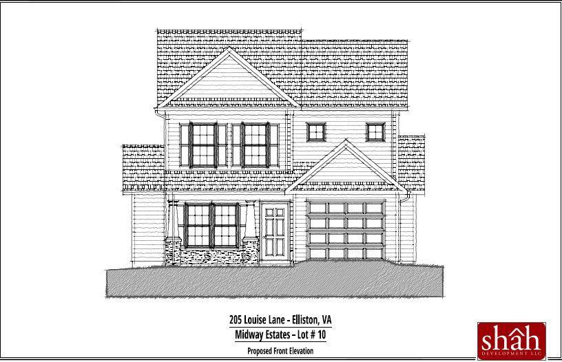 205 Louise LN, Elliston, VA 24087