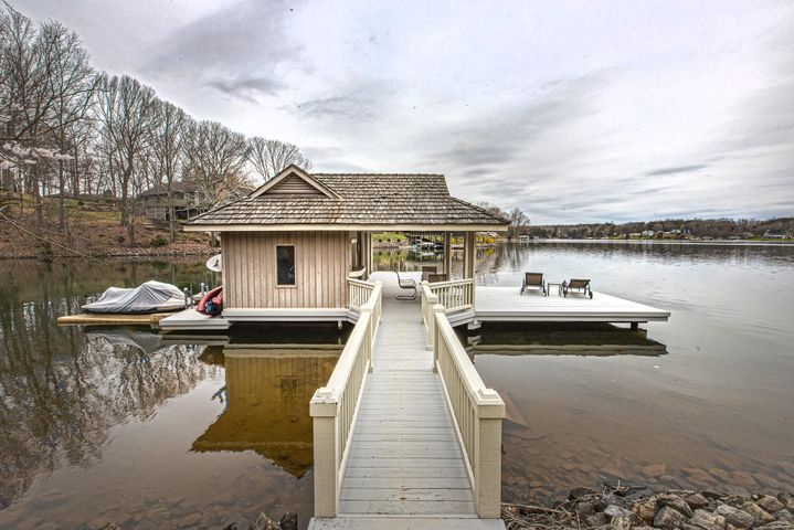 You can float, paddle board or kayak right off your boat dock in a large cove just off the main channel