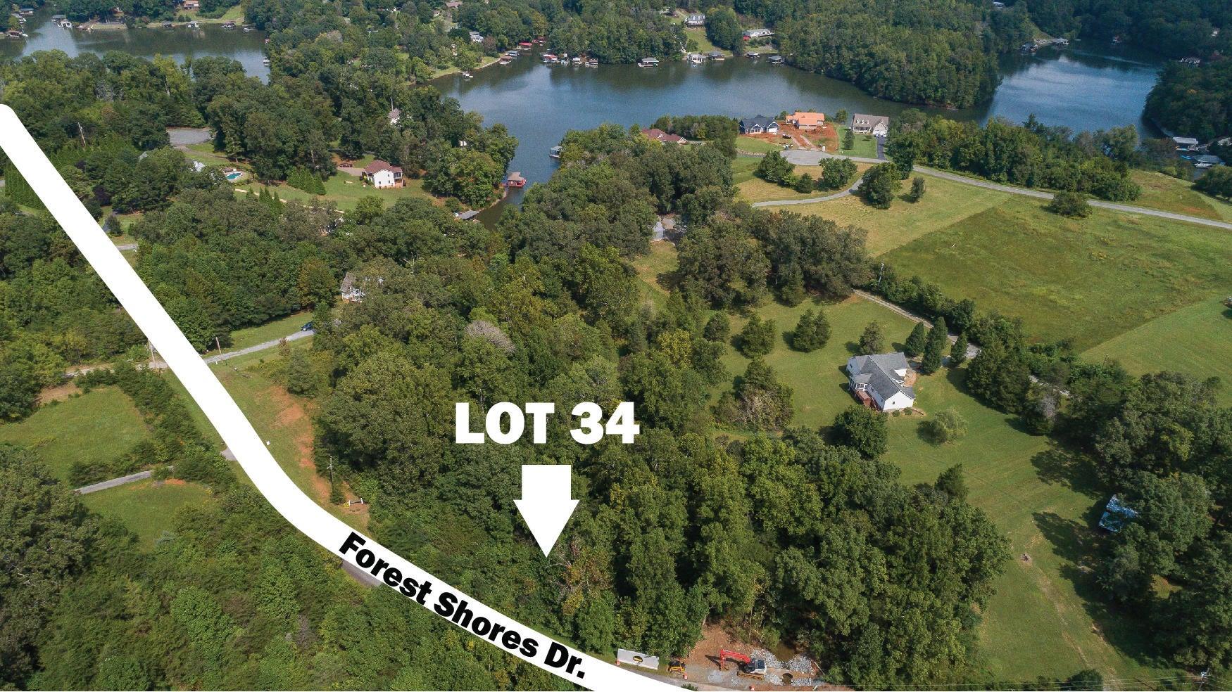 LOT 34 FOREST SHORES RD, Wirtz, VA 24184