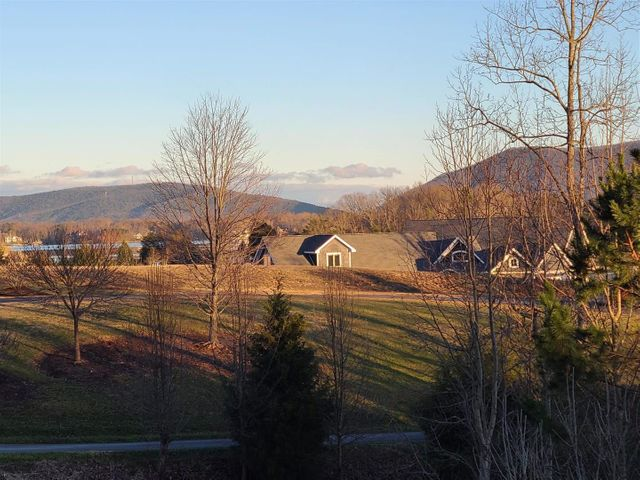 View from lot of Smith Mountain