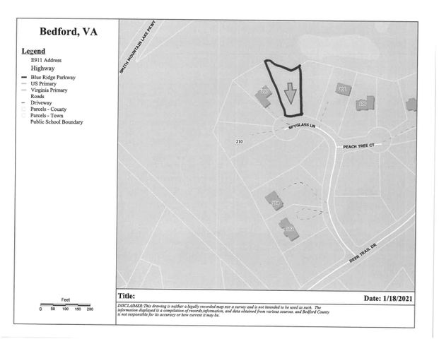 Lot 48 Spyglass LN, Huddleston, VA 24104