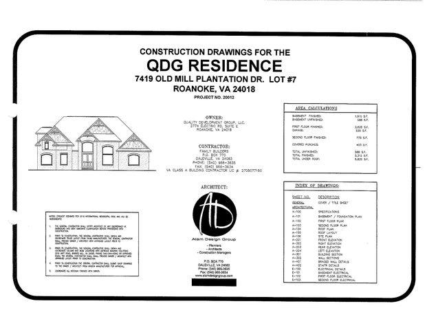 7419 Old Mill Plantation DR, Roanoke, VA 24018