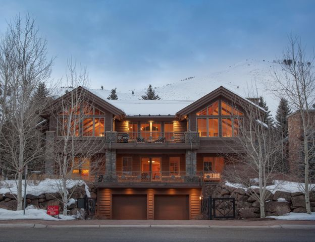 Stunning luxury home at the base of Warm Springs