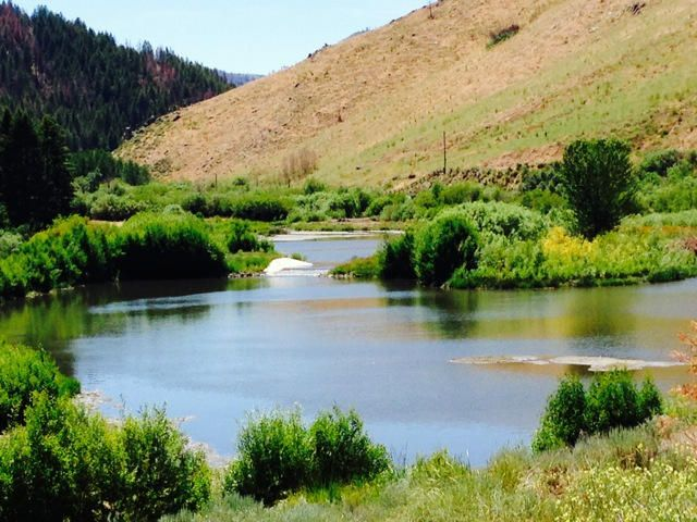 This historic Wood River Valley Ranch is located at the end of Deer Creek Canyon, between Hailey and Sun Valley. The ranch consists of 320 deeded acres and offers mountain and valley views in all directions.