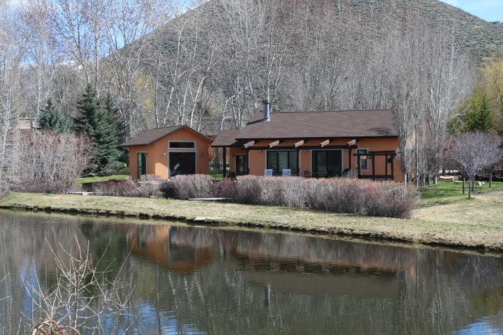 Home on Private Pond