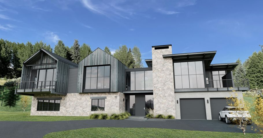 207 Camas Loop in Elkhorn. A mountain modern farmhouse by Annex Architecture.