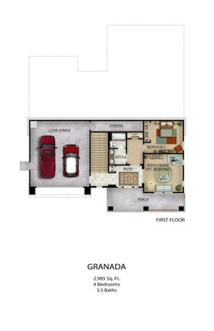Granada Floor plan
