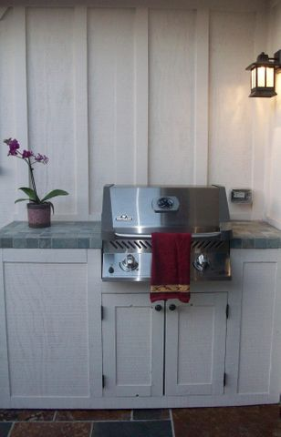 Built-in BBQ