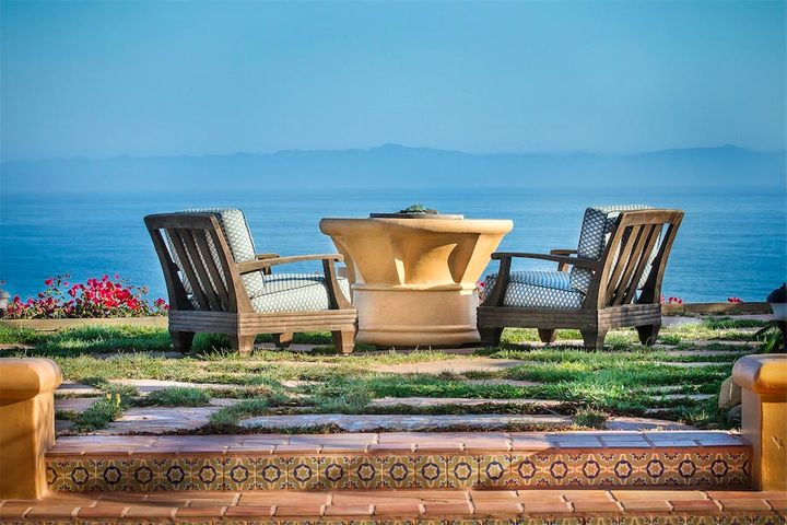 This oceanfront Mediterranean estate provides everything needed for the quintessential Santa Barbara Luxury Lifestyle.