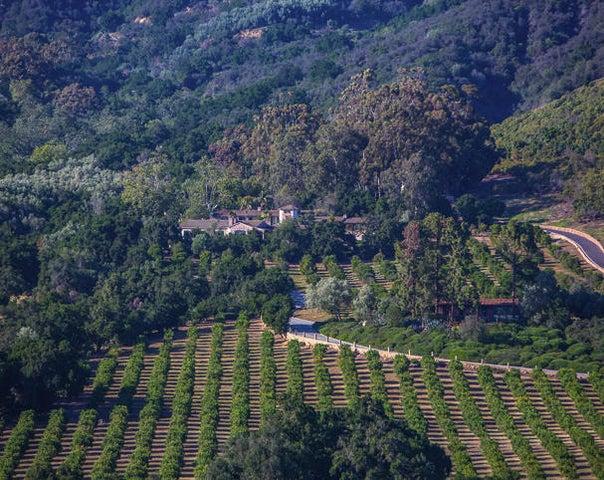 Rancho San Carlos Aerial Main Residence