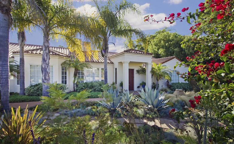 Private with gated entry to this Rancho San Antonio luxury home