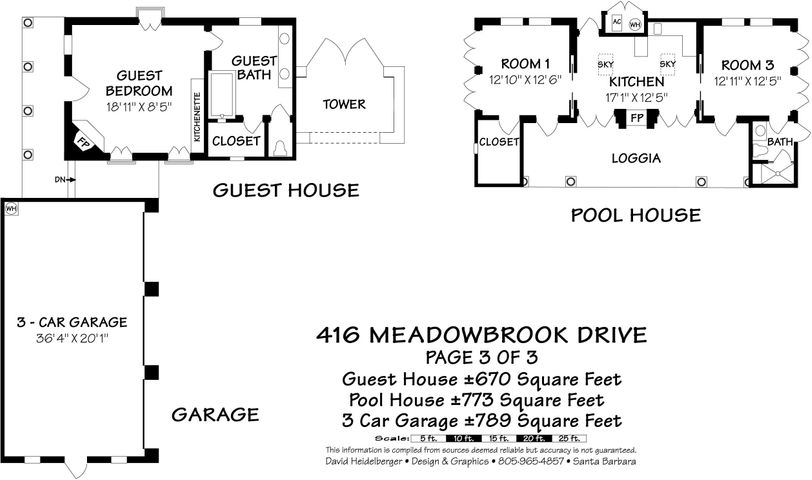 Guest House Pool House Floor Plan