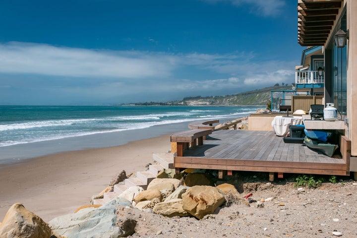 Ocean side deck