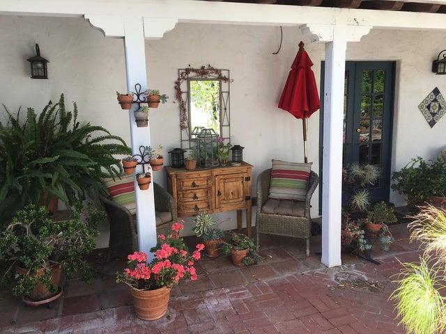 Courtyard off Master Bedroom
