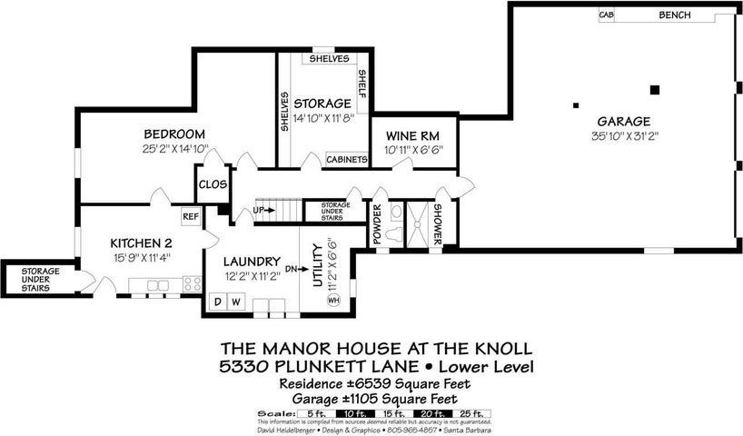 5330 Plunkett Lane Lower Level Floorplan